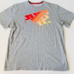 """Nike """"Just Do It"""" graphic T-Shirt   SZ XL"""